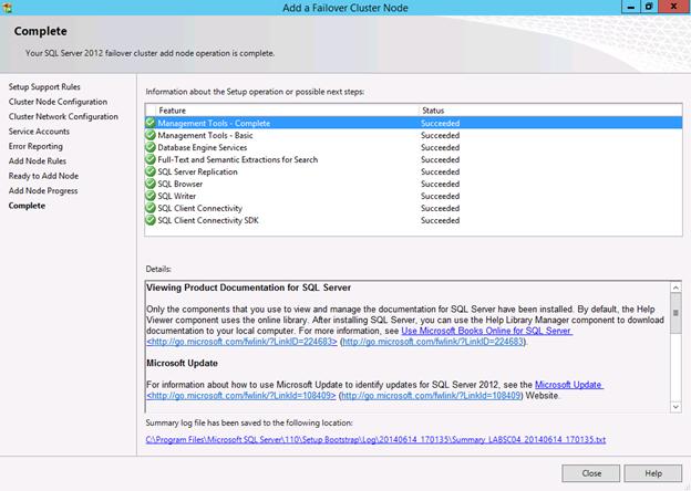 SQL 2012: Failover Clustering | Fazar