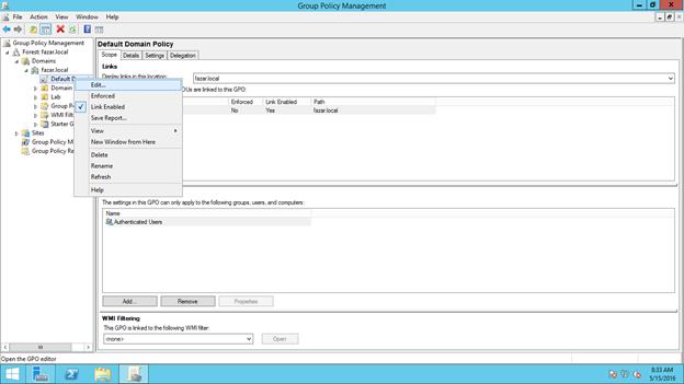 GPO:Configure Internet Explorer Security Zone Sites | Fazar